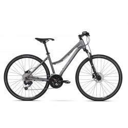 Rower crossowy KROSS Evado 6.0 Grafit/Czarny 2021