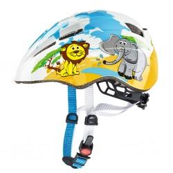 Kask rowerowy dziecięcy UVEX Kid 2 Yellow