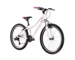 """Rower górski MTB KROSS Lea JR 1.0 Biały 2021 24""""/12"""""""