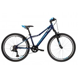 Rower górski KROSS Hexagon JR 1.0 Granatowy 2021