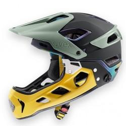 Kask rowerowy UVEX Jakkyl HDE 2.0 Forest /Mustard