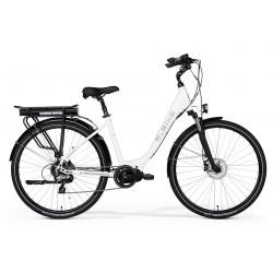 Rower elektryczny M_Bike E-City 828 Lady White