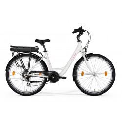 Rower elektryczny M_Bike 7 E-bike Lady White
