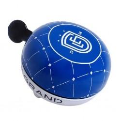 Dzwonek rowerowy Le Grand Retro XXL Gong Niebieski Logo
